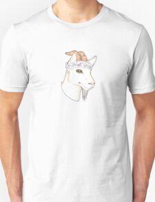Flower Crown Goat T-Shirt