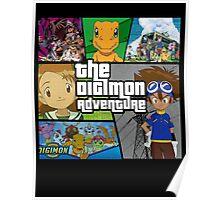 Digimon Adventure (GTA V Parody) Fan Made Poster