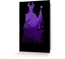 Midnight Maleficent Greeting Card