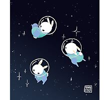 Space Bunnies Photographic Print