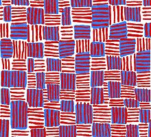 Red, White and Blue by sarahrozdilski