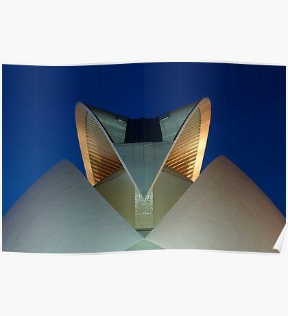 Palau De Les Arts - The Feather - CAC Poster