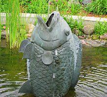 Fish Fountain, Millenium Park by shutterbug2010