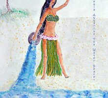Kealapauone, Aquarius the Water Bearer by RoyAllen Hunt