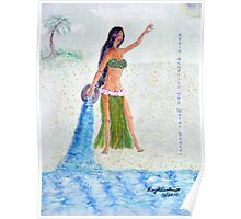 Kealapauone, Aquarius the Water Bearer Poster