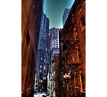 Gotham Alley Photographic Print