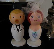 Little We Wedding Dolls 2 by Suzi Linden
