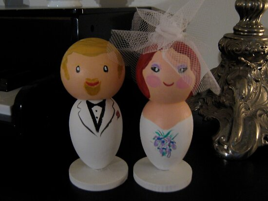 Little We Wedding Dolls 2 by Suzi Linden