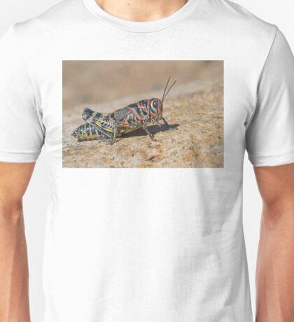 Colorful Grasshopper Unisex T-Shirt