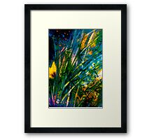 Tropics..Bamboo Night... Framed Print