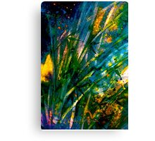 Tropics..Bamboo Night... Canvas Print