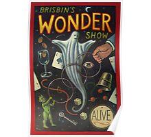 Brisbin's Wonder Show Poster