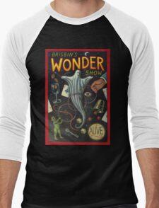 Brisbin's Wonder Show Men's Baseball ¾ T-Shirt