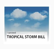 I Survived Tropical Storm Bill Kids Tee