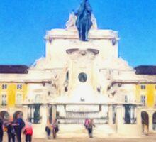 Lisboa - Baixa V Sticker