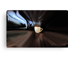 Coffee  To Go Canvas Print