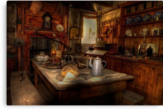 Kate's Cottage ~ Kitchen by Rosalie Dale