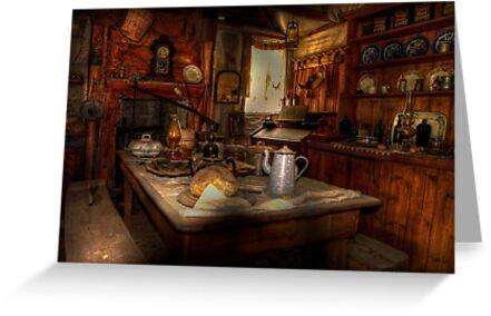 Kate's Cottage ~ Kitchen by Rosalie Dale