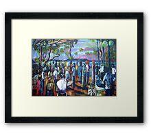 MICHELES 40TH Framed Print