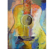 Guitar Melodies Photographic Print
