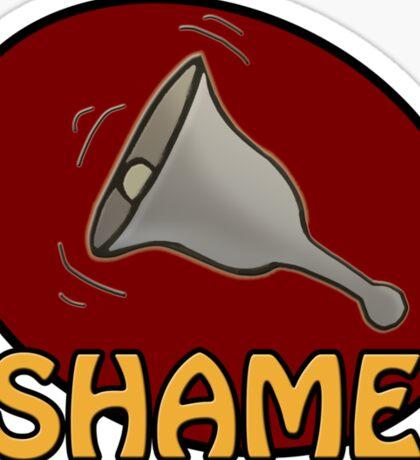 Shame! *ding-a-ling* Sticker