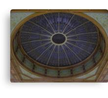 Ceiling Roundel (Waverley Railway Station, Edinburgh) Canvas Print