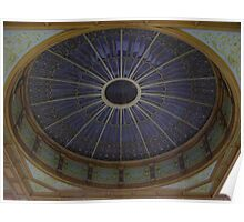 Ceiling Roundel (Waverley Railway Station, Edinburgh) Poster