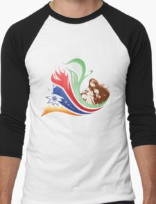 Four Elements Men's Baseball ¾ T-Shirt