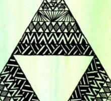 Legends of Zelda Zentagle Triforce Sticker