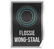 FLOSSIE WONG-STAAL - Women In Science Collection Poster