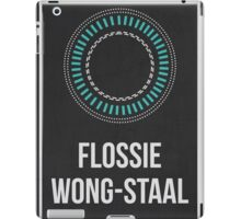 FLOSSIE WONG-STAAL - Women In Science Collection iPad Case/Skin