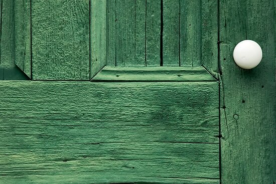 A Maine Door by Roger Bernabo