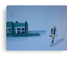 The gold has left green bay Canvas Print
