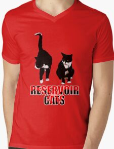 Reservoir Cats Mens V-Neck T-Shirt