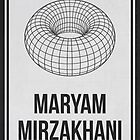 MARYAM MIRZAKHANI - Women In Science Collection by Hydrogene