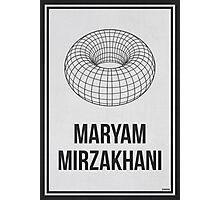MARYAM MIRZAKHANI - Women In Science Collection Photographic Print
