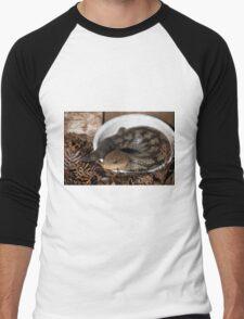 Blue tongue lizard Men's Baseball ¾ T-Shirt