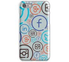 Social Media Crazy iPhone Case/Skin