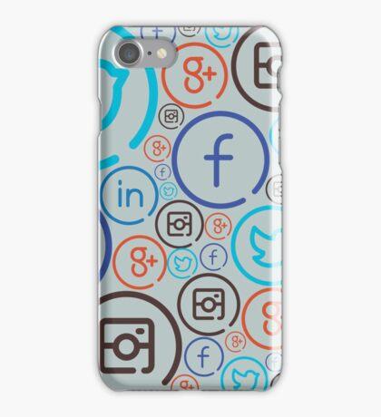 Social Media Crazy iPhone Case/Skin