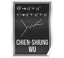 CHIEN-SHIUNG WU - Women In Science Collection Poster