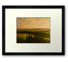 Green valley 2 Framed Print