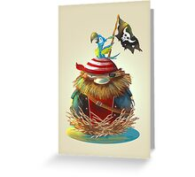 Pirate's Nest Greeting Card