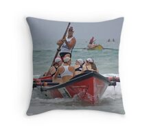 Port Campbell girls at Lorne Throw Pillow