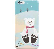 Sitting bear iPhone Case/Skin