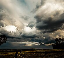 Spectacular Stormy skies by Kat36