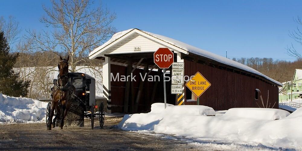 One Horse Power - One Lane Bridge by Mark Van Scyoc