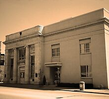 Vintage Bank Building, Niles, Ohio by Frank Romeo