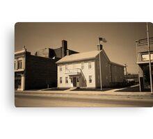 Historic House, Niles, Ohio Canvas Print