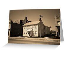 Historic House, Niles, Ohio Greeting Card