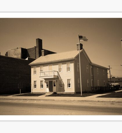 Historic House, Niles, Ohio Sticker